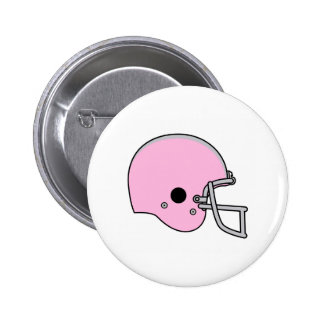 football helmets pinback button