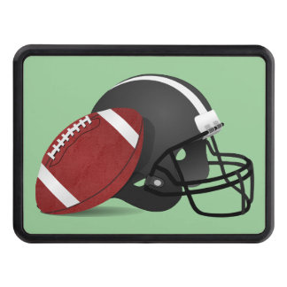 Football hitch cover. hitch cover
