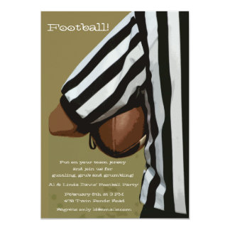 Football Hold Invitation