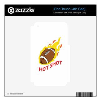 FOOTBALL HOT SHOT iPod TOUCH 4G SKIN