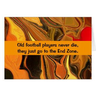 football humor card