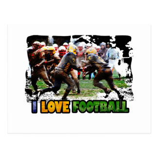 Football iGuide Gridiron Post Card