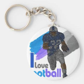 Football iGuide Running Back Keychain