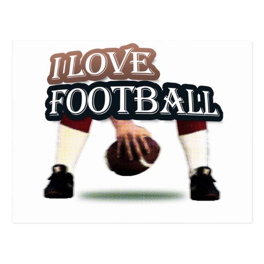 Football iGuide Snap Postcard