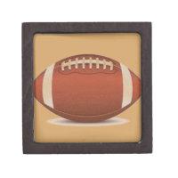 FOOTBALL IMAGE ON ITEMS KEEPSAKE BOX