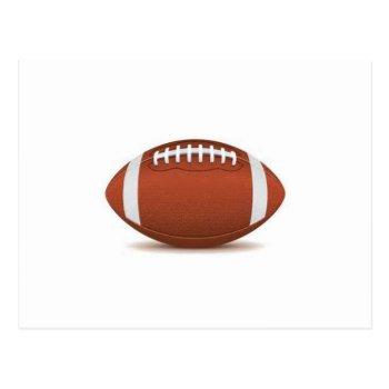 Football Image On Items Postcard by CREATIVESPORTS at Zazzle