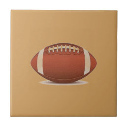 FOOTBALL IMAGE ON ITEMS TILE