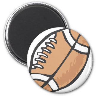 Football in Hand drawn Style Magnet