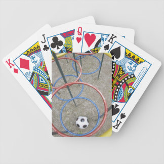 Football in Playground Bicycle Playing Cards
