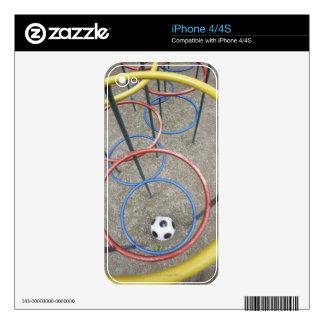 Football in Playground iPhone 4S Skin