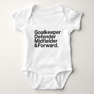 FOOTBALL INFANT CREEPER