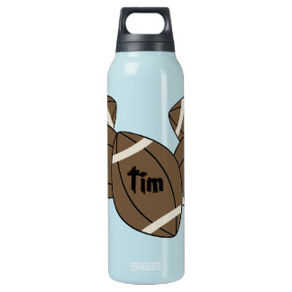 Football Insulated Water Bottle