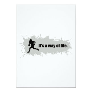 Football Is a Way of Life Card