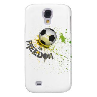 Football is F case Galaxy S4 (ball splash green)