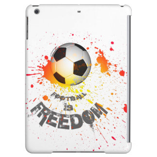 Football is F case iPad Air (ball splash orange) iPad Air Cases