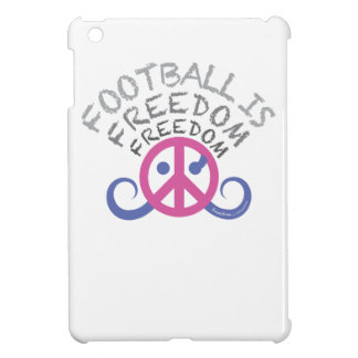 Football is Freedom case iPad mini fuchsia glossy Case For The iPad Mini