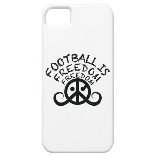 "Football is Freedom case iPhone 5/5S ""BarelyThere"""