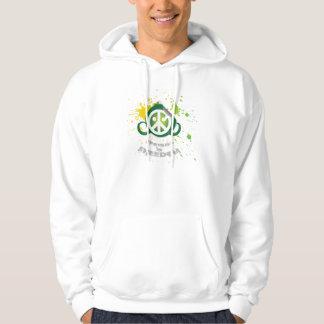 Football is Freedom hoodie (pocket; splash green)