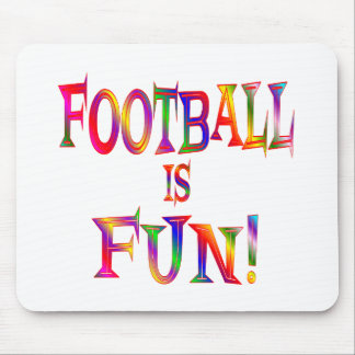 Football is Fun Mouse Pads