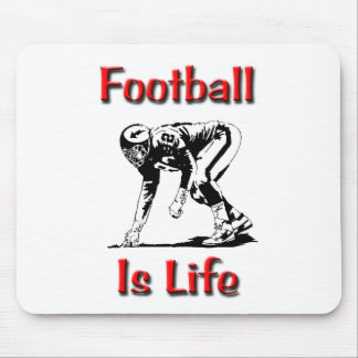 Football Is Life Mouse Pad