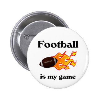 Football Is My Game Button