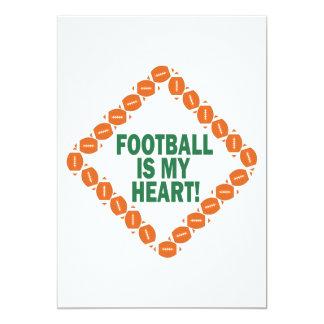 Football Is My Heart Card