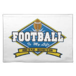 Football Is My Life Placemats