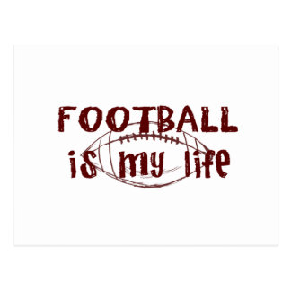 Football Is My Life Postcard