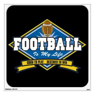 Football Is My Life Wall Sticker