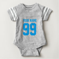 Football jersey boy bodysuit | Sports baby clothes