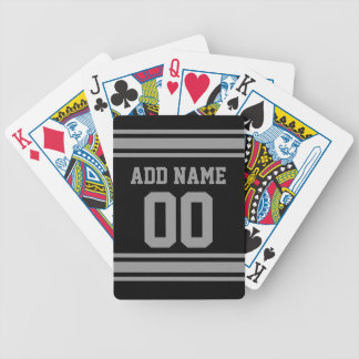 Football Jersey - Customize with Your Info Bicycle Playing Cards