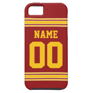 Football Jersey - Customize with Your Info iPhone 5 Covers