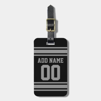 Football Jersey - Customize with Your Info Luggage Tag
