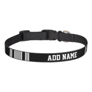 Football Jersey - Customize with Your Info Pet Collar