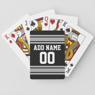 Football Jersey - Customize with Your Info Playing Cards