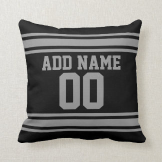 Football Jersey - Customize with Your Info Throw Pillow