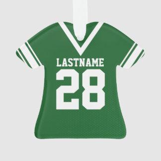 Football Jersey Green Uniform Ornament