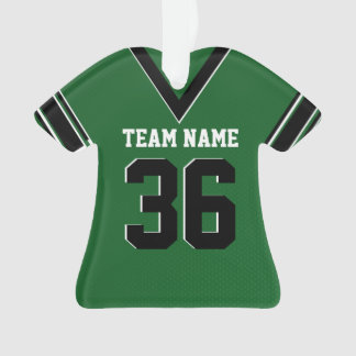 Football Jersey Green Uniform with Photo