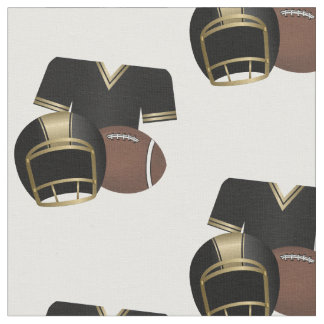 Football Jersey Helmet and Football Fabric