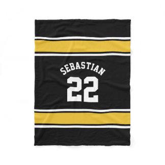 Football Jersey Novelty Personalized Name Fleece Blanket