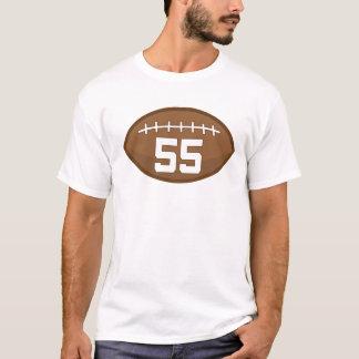 Football Jersey Number 55 Gift Idea T-Shirt