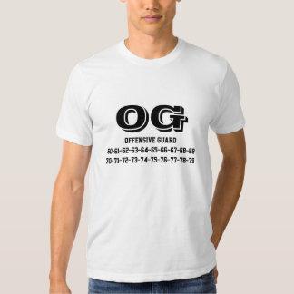 football jersey number tee-shirt T-Shirt