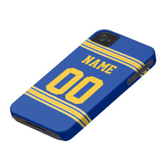 Football Jersey with Area To Customize iPhone 4 Case
