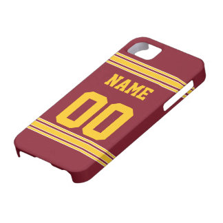 Football Jersey with Area To Customize iPhone 5 Cover