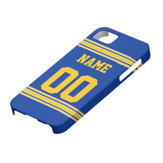 Football Jersey with Area To Customize iPhone SE/5/5s Case