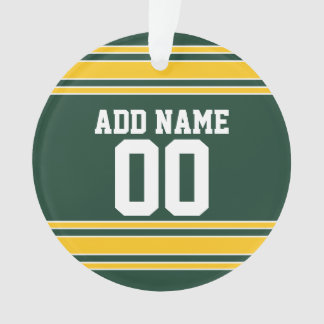 Football Jersey with Custom Name Number