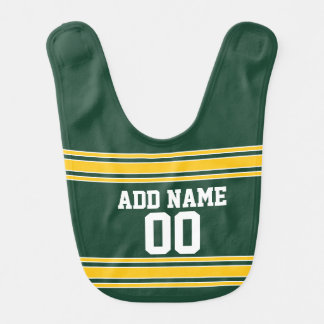 Football Jersey with Custom Name Number Bib