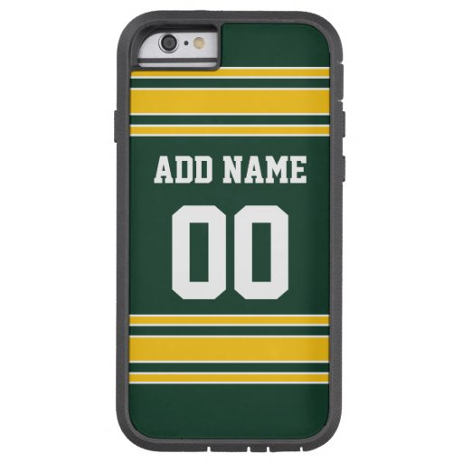 Football Jersey with Custom Name Number iPhone 6 Case