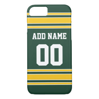Football Jersey with Custom Name Number iPhone 7 Case