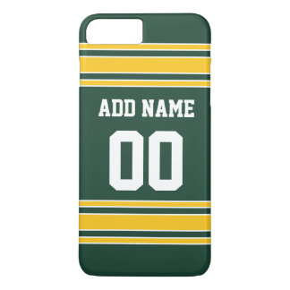 Football Jersey with Custom Name Number iPhone 7 Plus Case